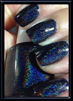 LIlypad Lacquer  Rainbows In Space