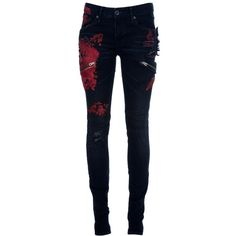 L.G.B. Tie-dye skinny jean (26.410 RUB) found on Polyvore