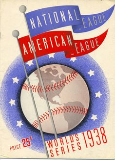 Cubs 1938 World Series Scorecard
