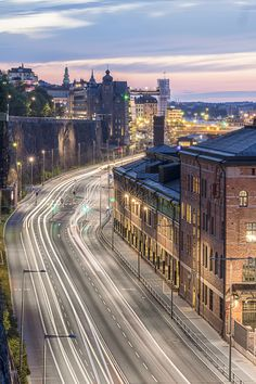 Stockholm by night by Björn Lidfors on 500px