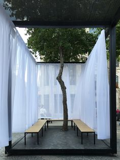Gallery of Bezalel Academy of Art and Design Students Build Temporary Pavilion in Jerusalem - 14