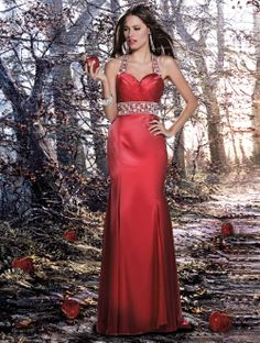 """""""Red Delicious"""" Disney Forever Enchanted Prom Dresses~ L I Bridal and Formal, Sioux Falls SD"""