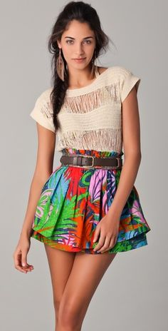 Want that skirt!