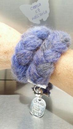 COSÌ bracciale in lana intrecciata Caldo caldo per l'inverno❄