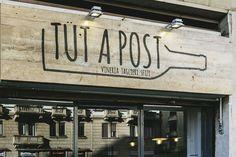 TUT A POST, Milan, 2016 - MARGstudio