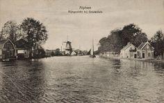Oude Rijn Zuid Richting Het Noorden Bij Gouwsluis - Oud Alphen