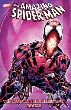 Spider-Man The Complete Ben Reilly Epic Book 3 (Spider-Man (Marvel)), John Romita, Marvel Comic Book Characters, Marvel Characters, Marvel Heroes, Comic Books Art, Avengers Comics, Children's Books, Comic Art, Book Art, Spectacular Spider Man