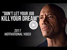 The truth about the law of attraction.Do not let any job that you do, kill your dream. It is your life. Motivational Speeches, Motivational Quotes For Working Out, Motivational Videos, Don't Let, Let It Be, It's Time To Change, Any Job, You Can Do, Something To Do