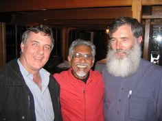 Hermann, Mac & I at Knysna. Mac, a long time associate of Mandela, Madiba