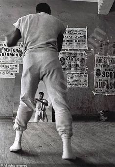 The fight is won or lost far away from witnesses - behind the lines, in the gym, and out there on the road, long before I dance under those lights. - Muhammed Ali