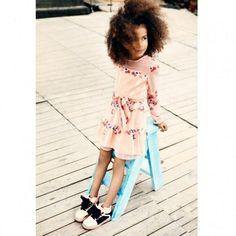 e67173e30deff0 SuperTrash Peach Floral Dress CharmPosh Preteen Fashion, Kids Fashion, Cute  Outfits For Kids,
