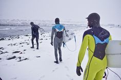 Now THIS is dedication. These three Sanukers know that staying comfy in conditions like these is a whole lot easier if you've got the right gear. #makewinteryourbeach
