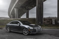 2017 Manhattan Grey Metallic Audi A4