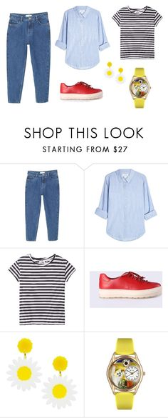 """""""Weekend Casual."""" by sara-jones14 on Polyvore featuring MANGO, Velvet, Cheap Monday and Diesel"""