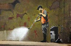 New iPhone app reveals locations of Banksy's art inLondon