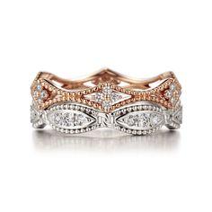 반지들은 스톤과 스톤 사이의 공간을 최소화 하여 다이아몬의 반짝임이 더욱더 섬세하고 아름답게 표현된 디자인 하였습니다.