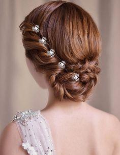 唯美仙女范儿 新娘发型 - 随便逛逛 - 淘宝网