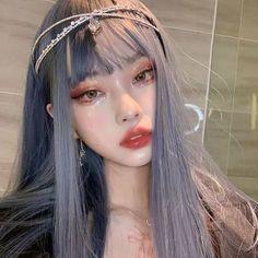 Korean Beauty Girls, Pretty Korean Girls, Cute Korean Girl, Kawaii Makeup, Cute Makeup, Aesthetic Makeup, Aesthetic Girl, Japonese Girl, Ulzzang Makeup