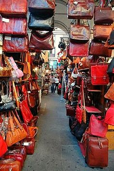 Leather market in Florence aka HEAVEN ON EARTH. hopefully i'll see you again soon! :)