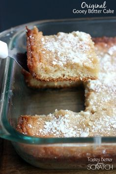 Saint Louis Original Gooey Butter Cake recipe made from scratch!
