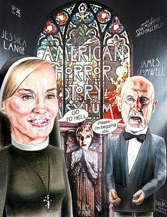 American Horror Story ~ Asylum..this season I liked the best so far!