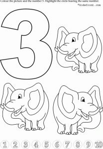 preschool number 3 worksheets (1)