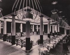he restaurant at the Metropolitan Museum of Art, New York was nicknamed 'The Dorotheum.' Via
