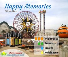I've literally spent all morning looking for the perfect picture to create my diffuser blend today. In case you guys aren't aware I am a huge theme park nerd!! My first job was at Disneyland and when the new park opened Disney California Adventure (DCA) I transferred over there. This is a picture that I took a few years ago after they started changing the pier (Sun Wheel turned into Mickey's Fun Wheel) but the Maliboomer and Orange Stinger are still there in the background. I decided to…