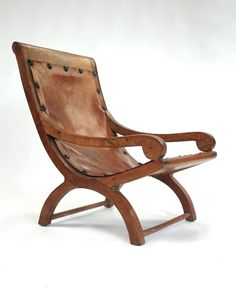 """""""Miguelito"""" Armchair from the Indio Fernanez Residence. Mexico, Circa 1940"""