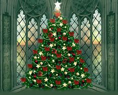 Christmas Tree in a Corner Window animated gif christmas christmas tree ornaments christmas decorations graphic Animated Christmas Tree, Xmas Gif, Christmas Pictures, Xmas Tree, Christmas Tree Ornaments, Christmas Decorations, Merry Christmas And Happy New Year, Christmas Love, Christmas Greetings