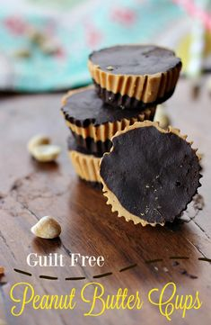 Indulge without the guilt!  These guilt free peanut butter cups are made with Jif Peanut Powder, greek yogurt and protein powder, making them a perfect after gym indulgence! #StartWithJifPowder ad