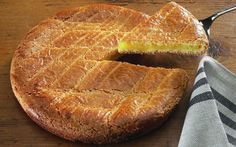 Receita de Bolo Basco (França) | Doces Regionais