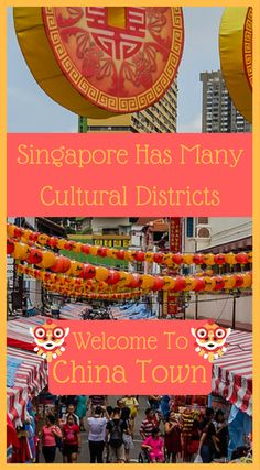 Singapore has many cultural districts. Welcome to China Town. As a country comprised mainly of immigrants, Singapore has many cultural districts and Chinatown is one of their largest. You'll love the energy of the bustling shops and food stalls as you discover cheap souvenir shops, karaoke lounges, and delicious night markets. Click to read more at http://www.divergenttravelers.com/things-to-do-in-singapore/