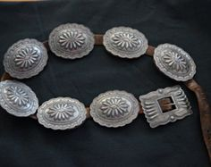 Incredible PUBLISHED Second Phase Concho Belt c.1900-1910, Native American Jewelry