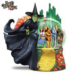 Bradford Exchange Disney Wizard of OZ Wicked Witch Musical Glitter Globe NEW Wizard Of Oz Gifts, Wizard Of Oz Musical, Wizard Of Oz Characters, Wizard Of Oz 1939, Iconic Characters, Bradford Exchange Disney, Glitter Globes, Snow Globes, Water Globes