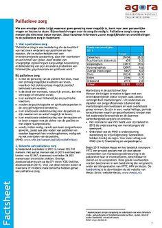 Factsheet paliatieve zorg 2012 - De factsheet palliatieve zorg informeert u over mogelijkheden en ontwikkelingen in de palliatieve zorg in Nederland.