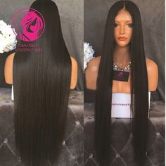 64.90$ Watch now - http://ali1dy.worldwells.pw/go.php?t=32689314187 - Front Lace WigsFull Lace Human Hair Wigs Natural Straight In Stock Wig 7a Unprocessed Brazilian Virgin Hair Lace Front Wig