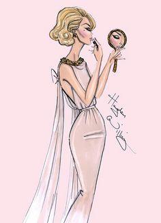 Glamour #bocetos #moda