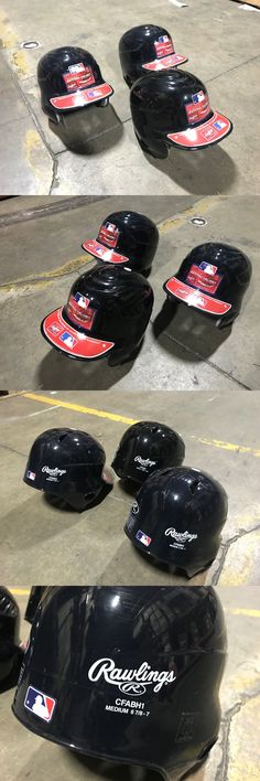 Batting Helmets and Face Guards 36270: New Lot Of 3 Rawlings Coolflo Baseball Batting Helmet Cfabh Black Gd17 -> BUY IT NOW ONLY: $44.99 on eBay!