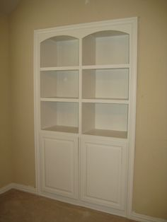 Pics Of Built In Bookcases | Built In Bookcase After