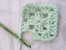 How to Crochet a Classic Granny Square: Cluster of 3 Double Crochet