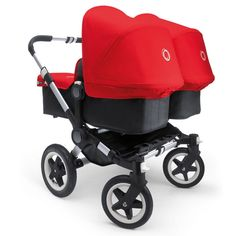 Bugaboo Donkey Twin (Base +2x Tailored Fabric +Extension Set +Carrycot/Bassinet Base)