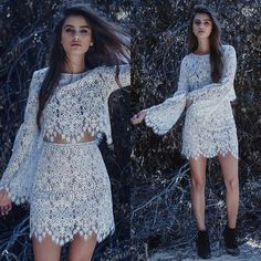 For love and lemons Vika lace Skirt NWOT Brand New. Never worn. Add some sexy, boho flair to your closet with this skirt from For Love & Lemons. Featuring an ultra-chic lace overlay in an allover floral design. Additional photos: pressenjuice@gmail.com For Love and Lemons Skirts Mini