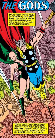 Thor & Moondragon