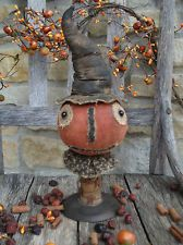 Primitive * fall * pumpkin make do * witch * Halloween #eBay #Halloween