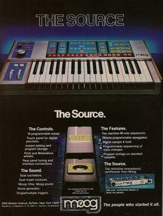 Retro Synth Ads | Moog Music Inc