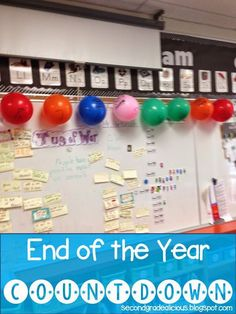 Secondgradealicious: End of the School Year Ideas