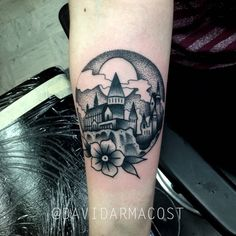 Hogwarts // by David Armacost (me) at Designs by Dana // Cincinnati OH - Imgur
