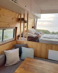 Petit Camping Car, Van Camping, Camping Meals, Camping Hacks, Van Interior, Camper Interior, Kitchen Interior, Kombi Home, Caravan Renovation