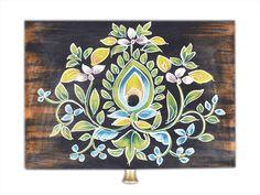Store Indya Vintage Handmade Wooden Jewelry Keepsake Trinket Storage Memory Floral Design for Home Decor (Multicolor Painted Wooden Boxes, Wooden Storage Boxes, Hand Painted, Cool Paintings, Jewelry Holder, Wooden Jewelry, Handmade Wooden, Art Inspo, Floral Design